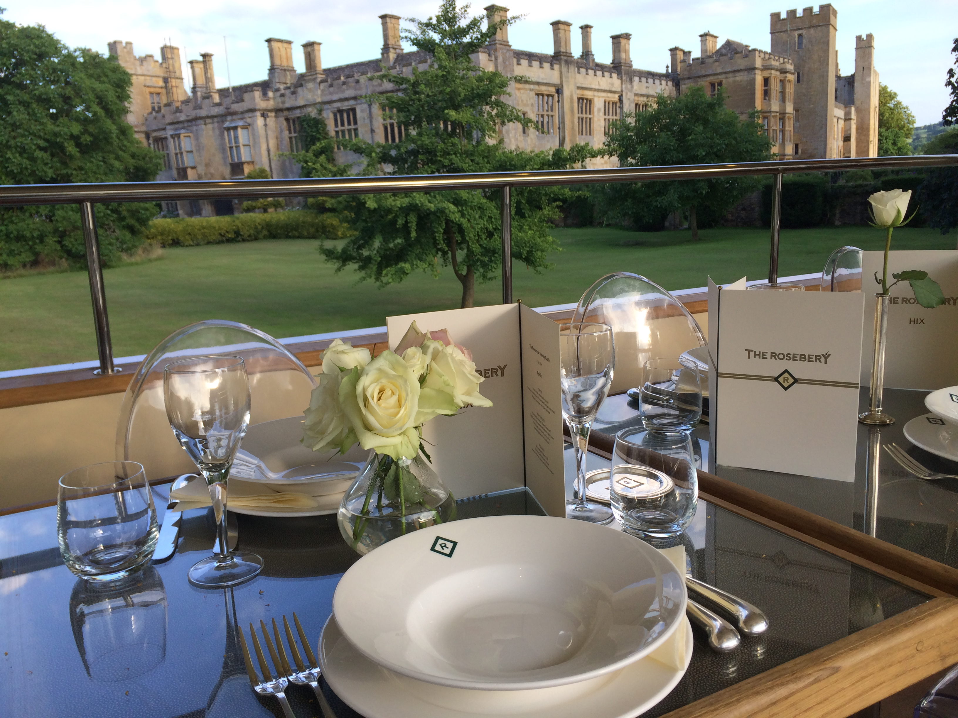 The Rosebery Dinner at Sudeley Castle